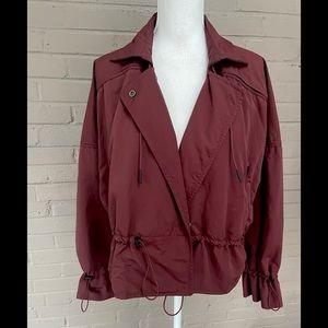 Athleta  burgundy active jacket M-L
